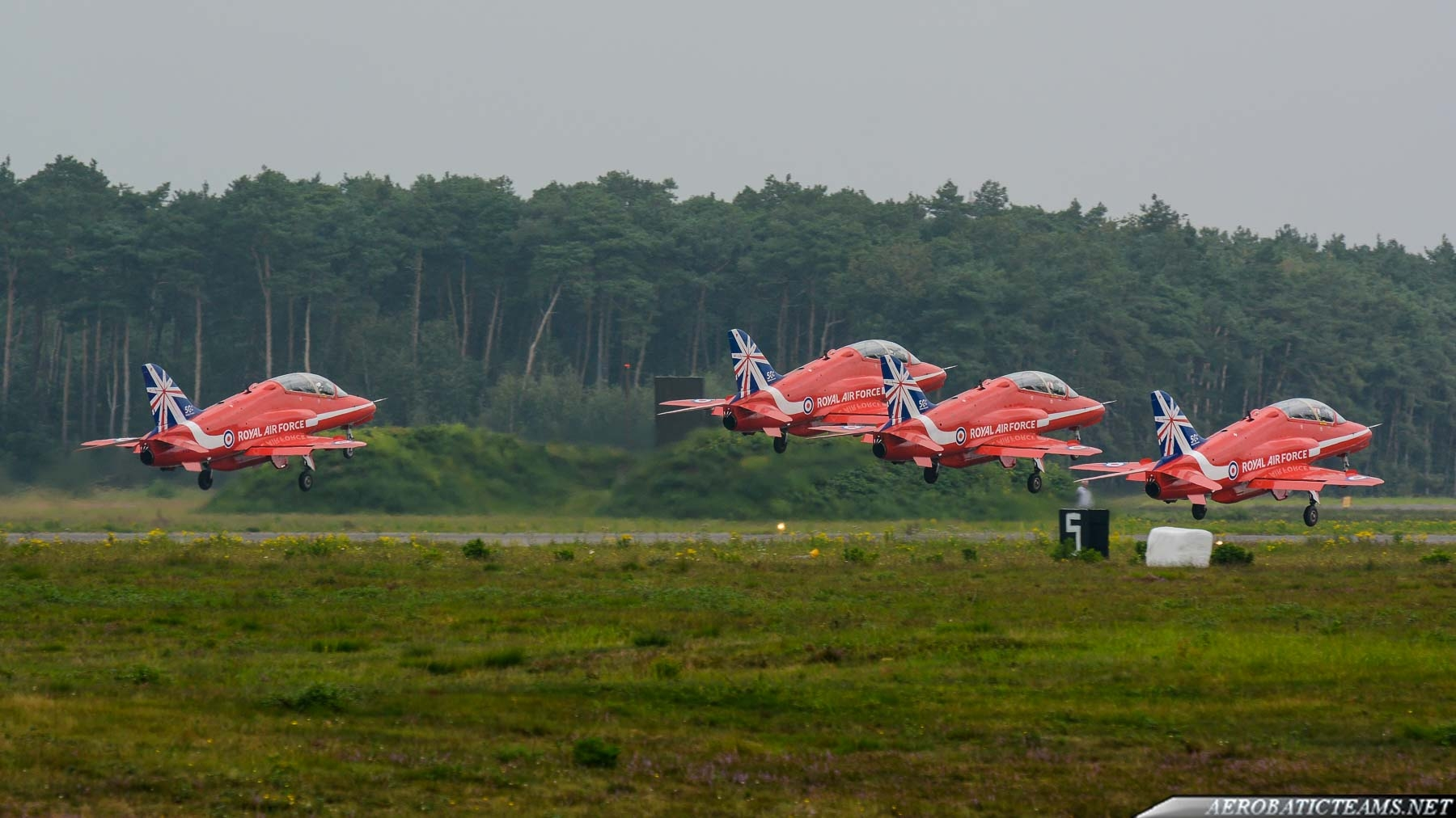Red Arrows takes off again