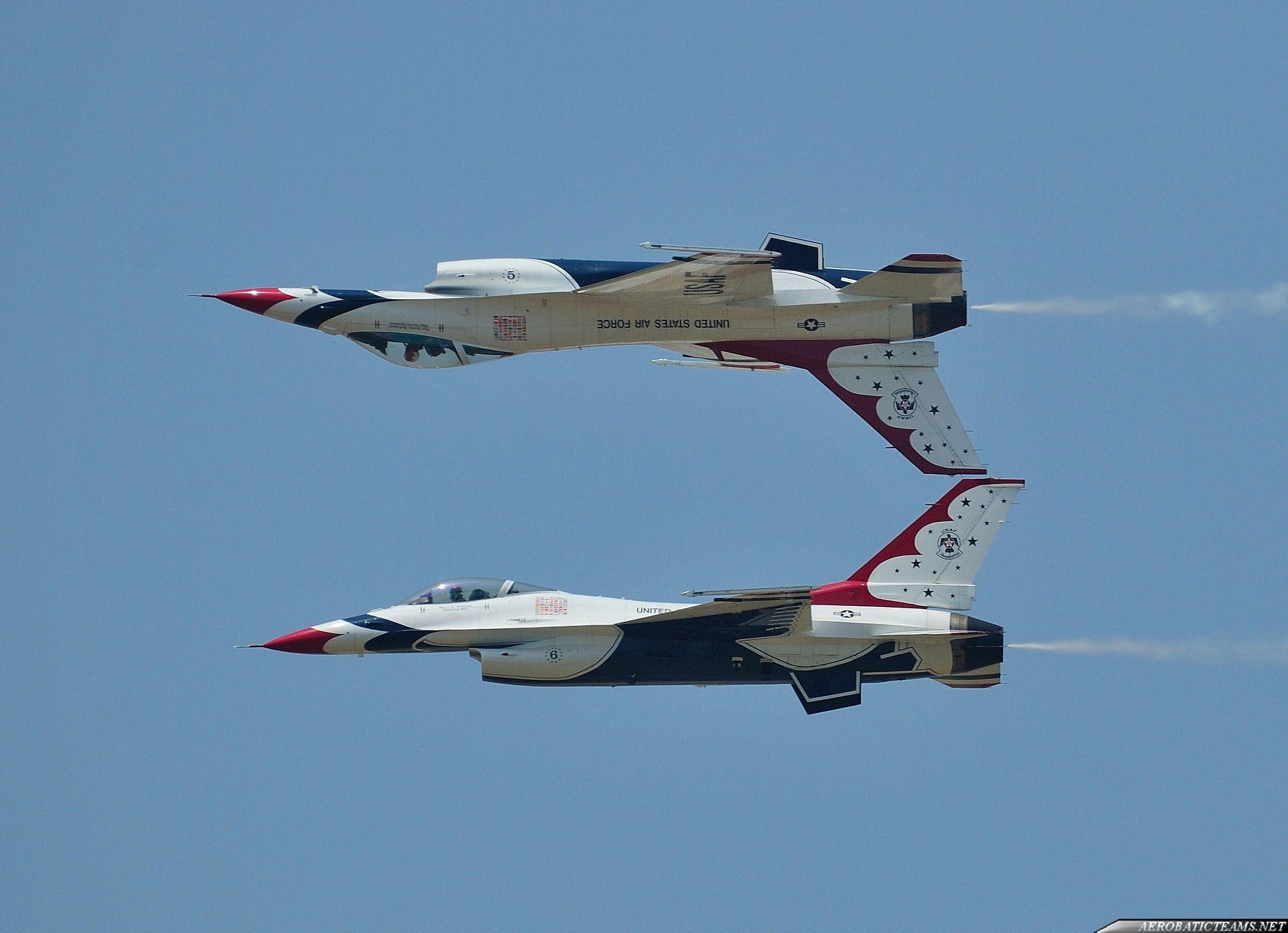 USAF Thunderbirds 2017 schedule