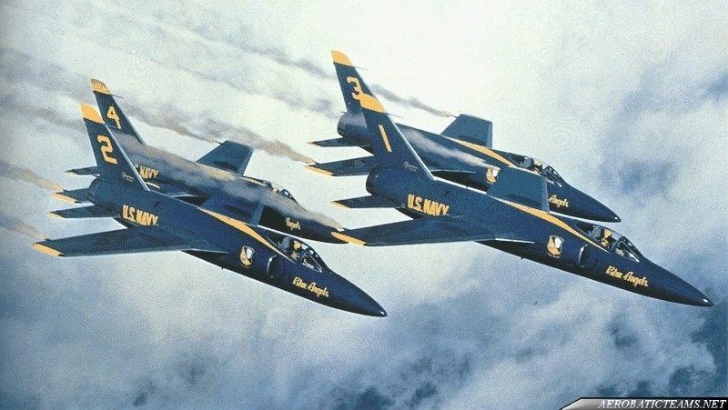 Blue Angels F11F Tiger long nose