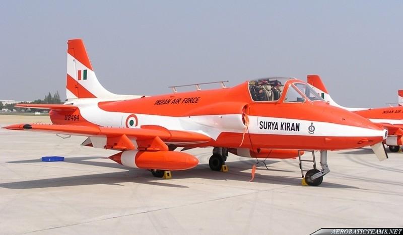 Surya Kiran HJT-16 Kiran Mk.II aircraft