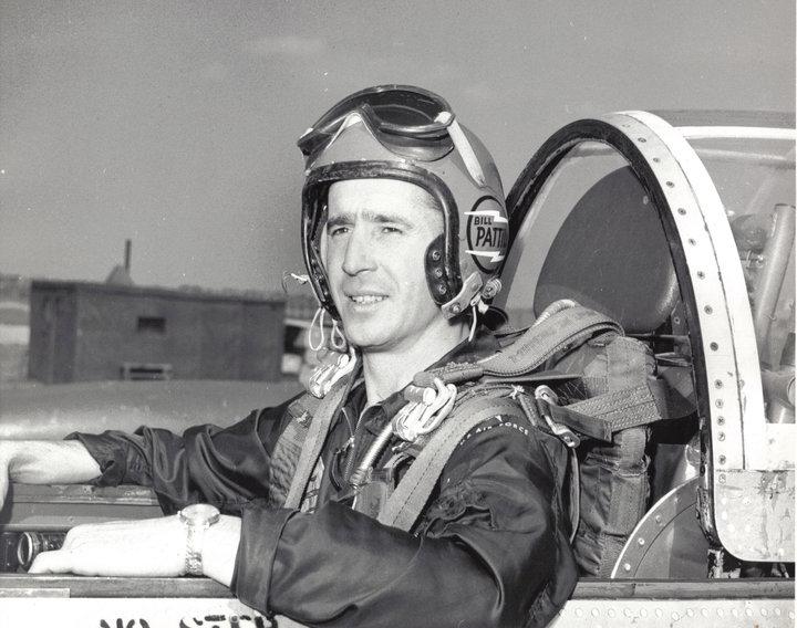 Lt. Bill Pattillo when he flew with Skyblazers