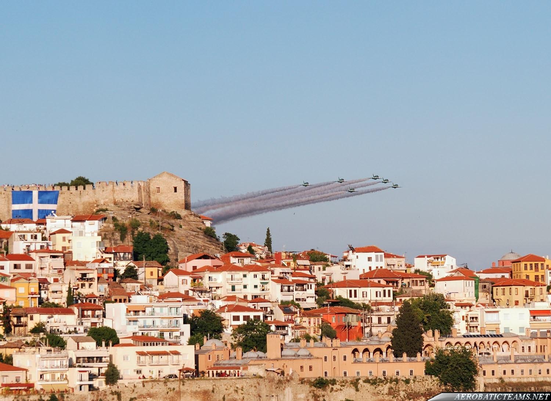Saudi Hawks over Kavala