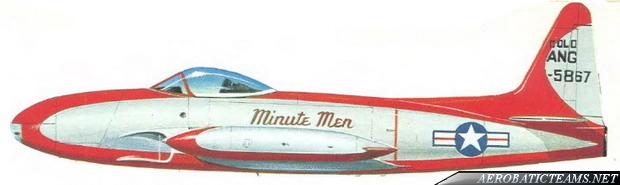 Minute Men F-80C Shooting Star livery