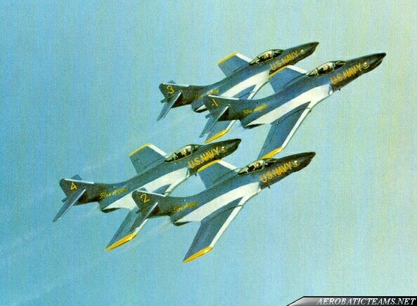 Blue Angels F9F-8 Cougar