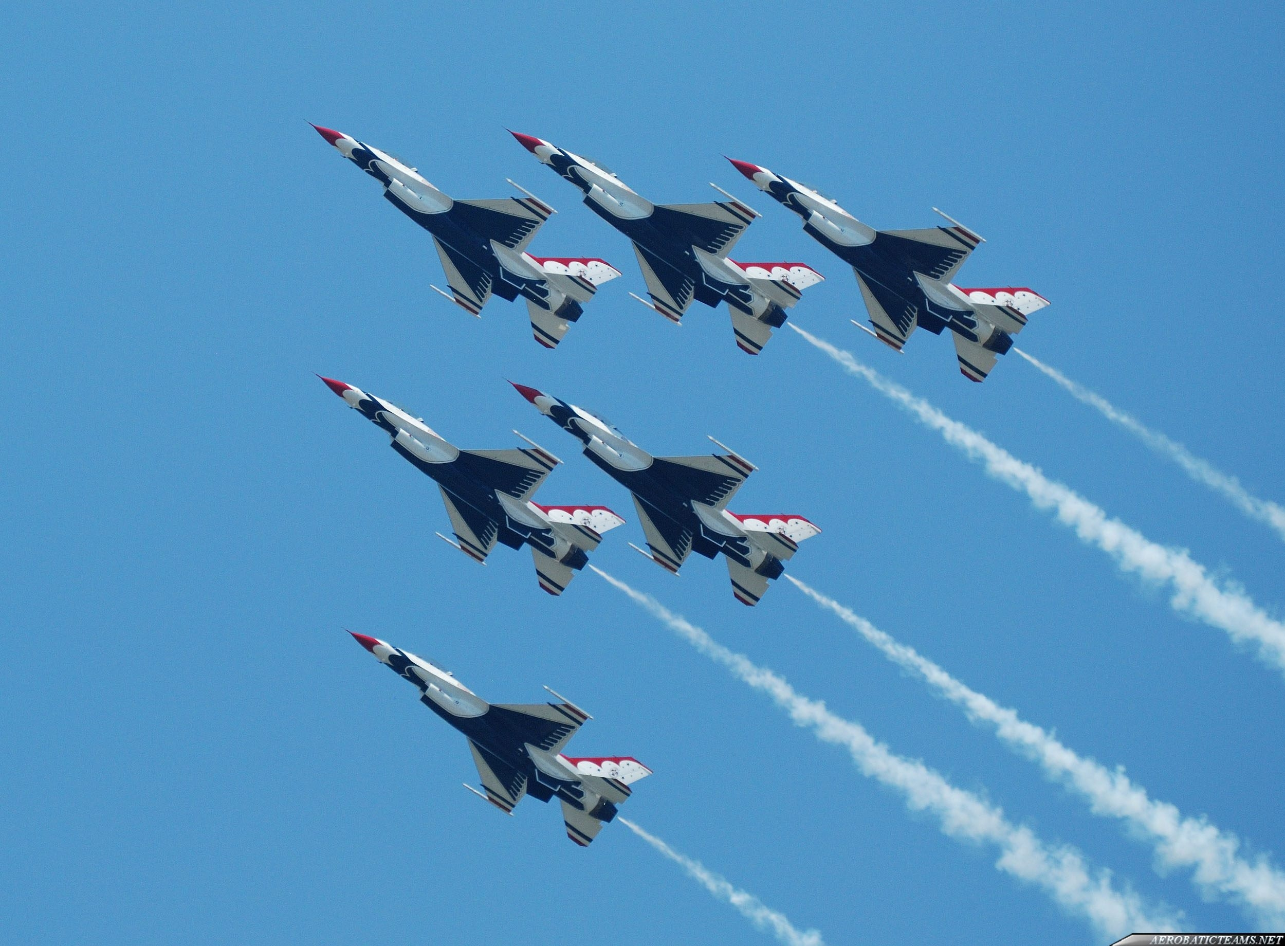 Thunderbirds Super Bowl LIII flyover