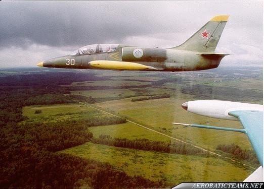 Russ L-39 Abatross first paint scheme