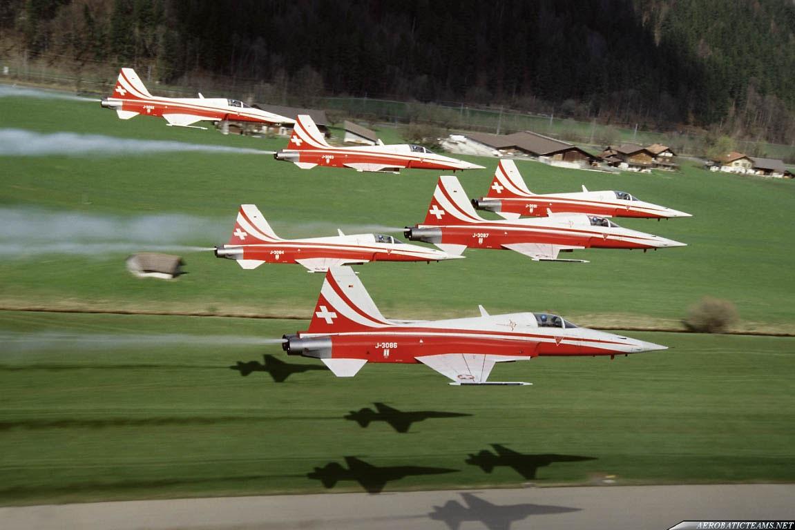 Patrouille Suisse F-5E Tiger II Gallery