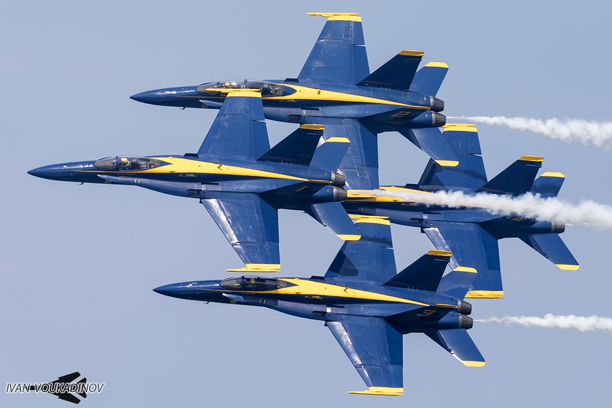 Blue Angels F/A-18 Hornet Gallery