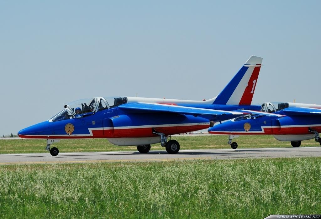 Patrouille de France Alphajet Gallery