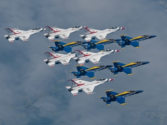 Thunderbirds to join Blue Angels at El Centro for exercise