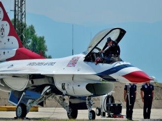 Thunderbirds pilots will extend their tour with the squadron for one more year