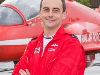 Red Arrows pilot who crashed last year was fatigued and distracted