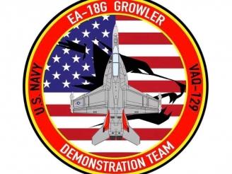 U.S. Navy Growler Demo Team has been created