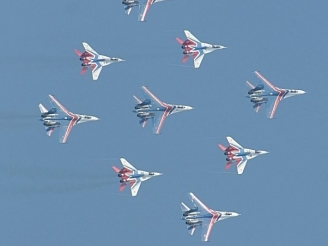 Russian Knights and Swifts to participate at Zhuhai Aishow 2016