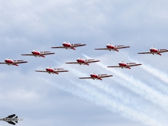 Snowbirds resume flying operations