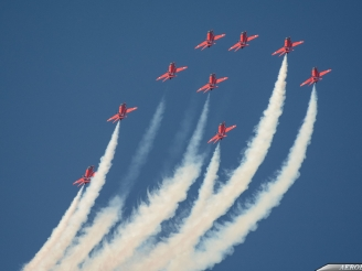 Two Red Arrows displays have been cancelled
