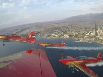 Royal Jordanian Falcons new aircraft