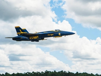 Blue Angels received first F/A-18 Super Hornet