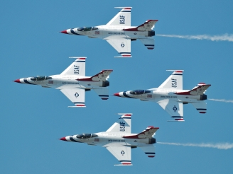 USAF Thunderbirds to perform in Europe at Air Tattoo