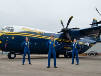 First photo of new Fat Albert C-130J