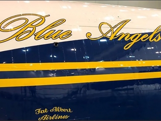New Fat Albert aircraft coming soon with new paint scheme