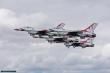Lt. Col. Jason Heard lead the Thunderbirds during their Europe visit at Air Tattoo 2017.