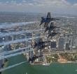 Blue Angels, flyover Jacksonville, Florida, May 8, 2020. U.S. Navy photo by Mass Communication Specialist 1st Class Jess Gray