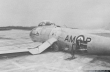 Blue Devils Canadair F-86 Sabre crash landing