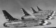 Skyblazers F-100C Super Sabre , 1957-62, Bitburg airbase, Germany