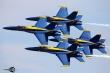 Blue Angels Diamond formation