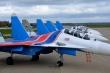 First four Russian Knights Su-30SM at Kubinka Air Base. Photo strizhi.ru