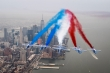 Patrouille de France over New York, 25 March 2017. Photo Olivier Ravenel, French Air Force