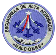 Halcones aerobatic team logo