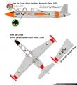Silver Swallows CM170 Fouga Magister paint scheme