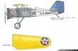 Three Gallant Souls Curtiss F6C-4 paint scheme