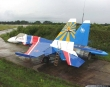 Su-35 in Russian Knights colors