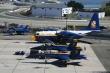 Blue Angels F/A-18 Hornet and Fat Albert