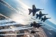 Blue Angels Super Hornet Delta. Source US NAVY