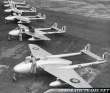 54th Squadron de Havilland Vampire Display Team