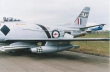 Restored RAAF Sabre painted in Black Diamonds colours for historic and display purposes