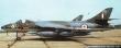 RAF Black Knights Hawker Hunter F1. 54th Squadron Aerobatic Display Team