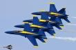 Blue Angels Echelon formation