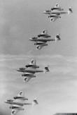 Diamonds Four Gloster Meteor Mk.8