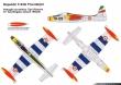 Tigri Bianche F-84G Thunderjet paint scheme