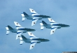 Blue Impulse Kawasaki T-4