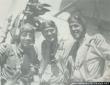 Three Sea Hawks pilots. From left to right: LTJG W.V Davis, LT 'Tommy' Tomlinson and LTJG A.P Storrs III