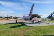 Frecce Tricolori F-84F Thunderstreak at Rivolto Air Base