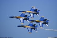 Blue Angels canceled airshow display after boss fall ill