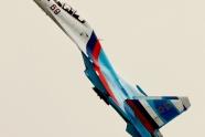 Russian Falcons fly Su-30SM