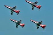 Surya Kiran aerobatic team flies six Hawk aircraft already